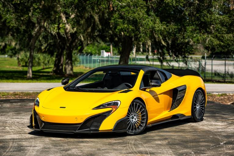 Used 2016 McLaren 675LT Spider for sale Call for price at McLaren Orlando LLC in Titusville FL 32780 3