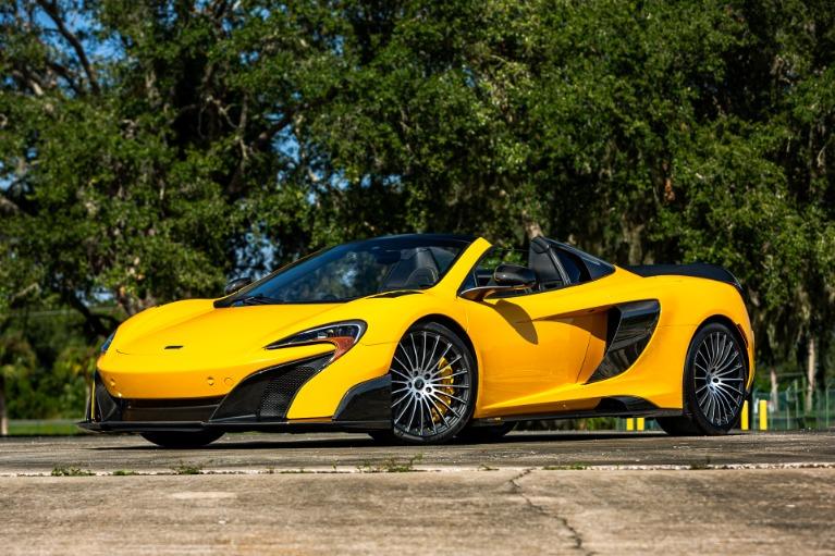 Used 2016 McLaren 675LT Spider for sale Call for price at McLaren Orlando LLC in Titusville FL 32780 4