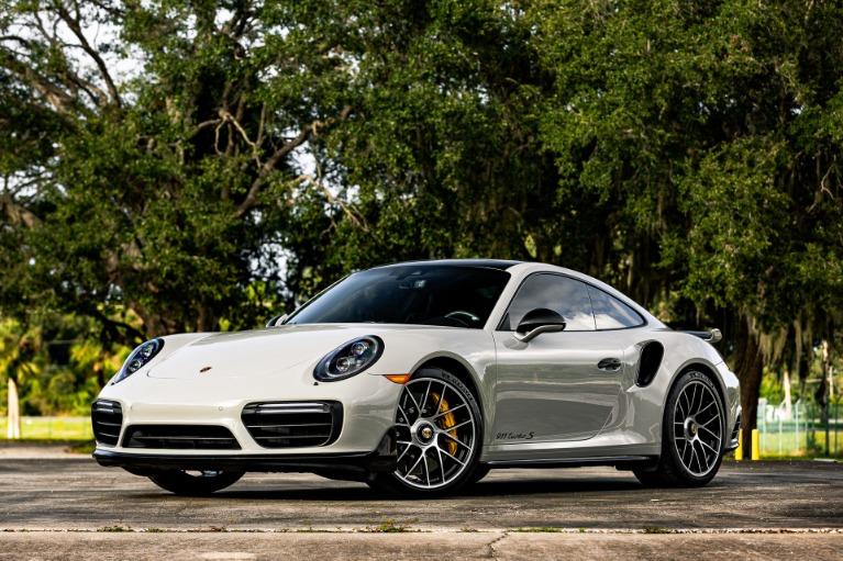 Used 2018 Porsche 911 Turbo S for sale $169,885 at McLaren Orlando LLC in Titusville FL 32780 4