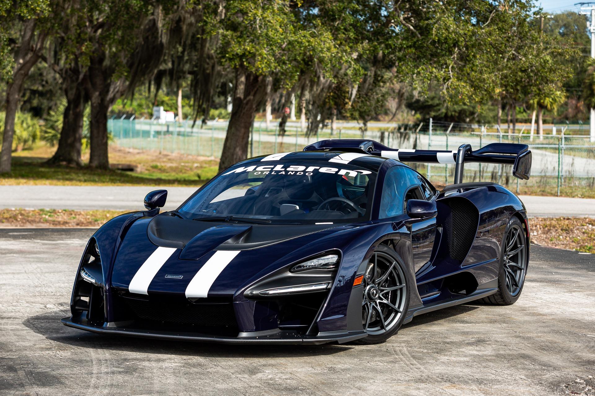Used 2019 McLaren Senna for sale Call for price at McLaren Orlando LLC in Titusville FL 32780 1
