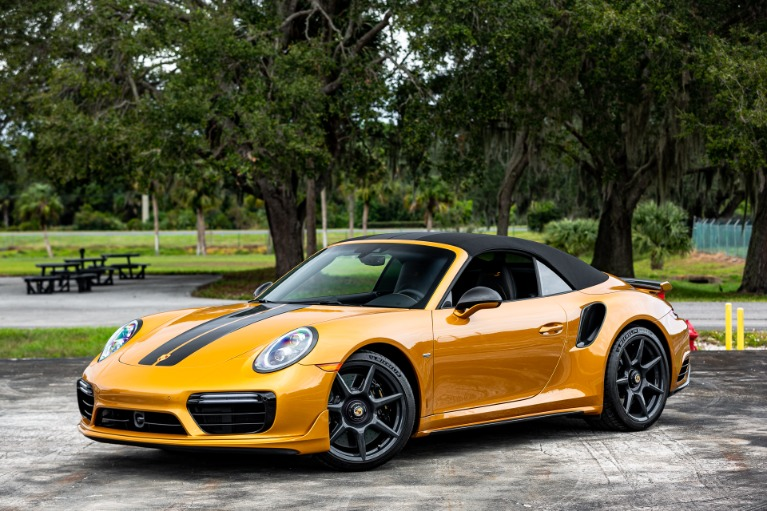 Used 2019 Porsche 911 Turbo S Cabriolet Exclusive for sale Sold at McLaren Orlando LLC in Titusville FL 32780 2