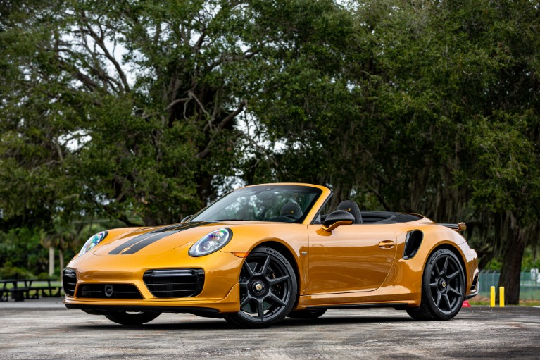 Used 2019 Porsche 911 Turbo S Cabriolet Exclusive for sale Sold at McLaren Orlando LLC in Titusville FL 32780 3