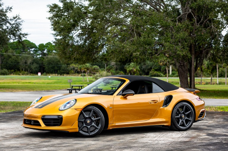 Used 2019 Porsche 911 Turbo S Cabriolet Exclusive for sale Sold at McLaren Orlando LLC in Titusville FL 32780 4