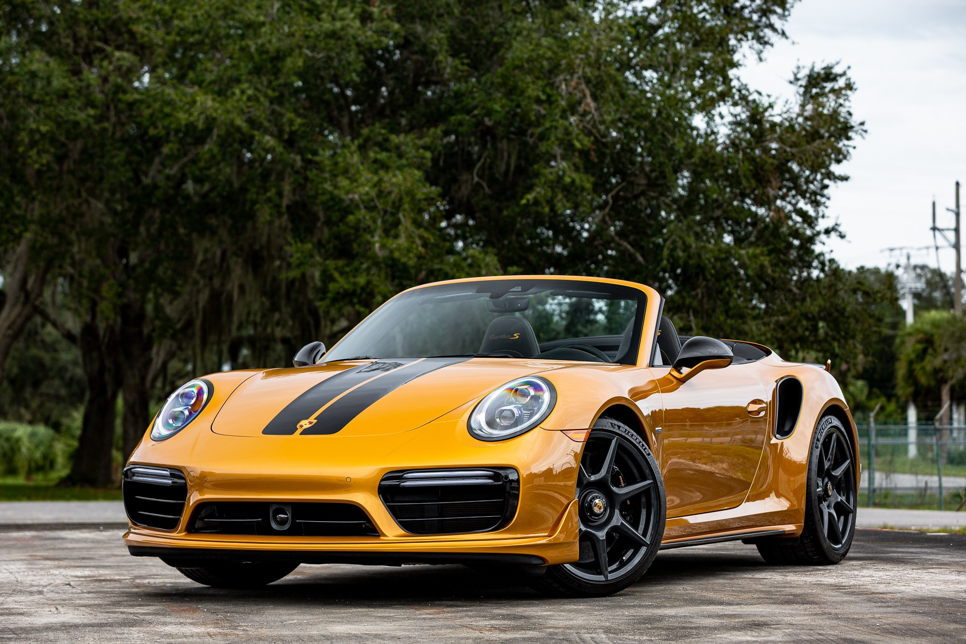 Used 2019 Porsche 911 Turbo S Cabriolet Exclusive for sale Sold at McLaren Orlando LLC in Titusville FL 32780 1