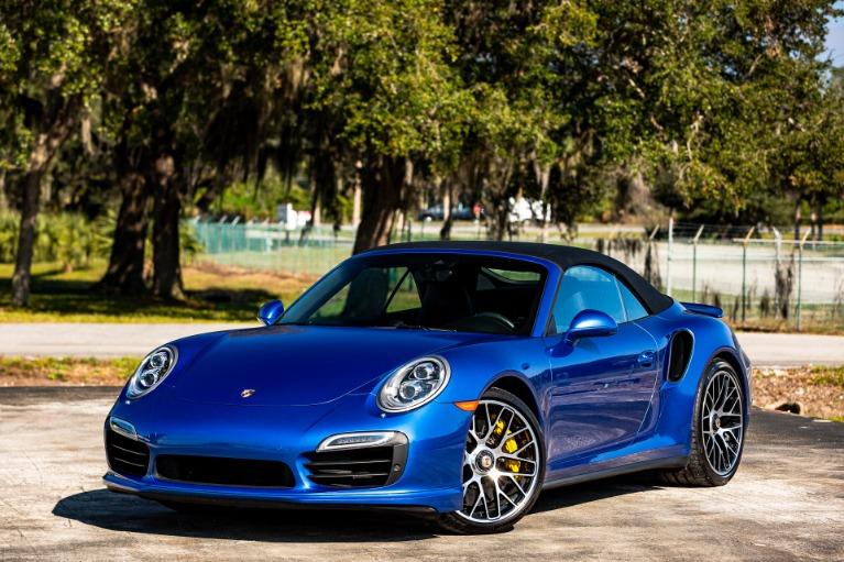 Used 2015 Porsche 911 Turbo S for sale Sold at McLaren Orlando LLC in Titusville FL 32780 2