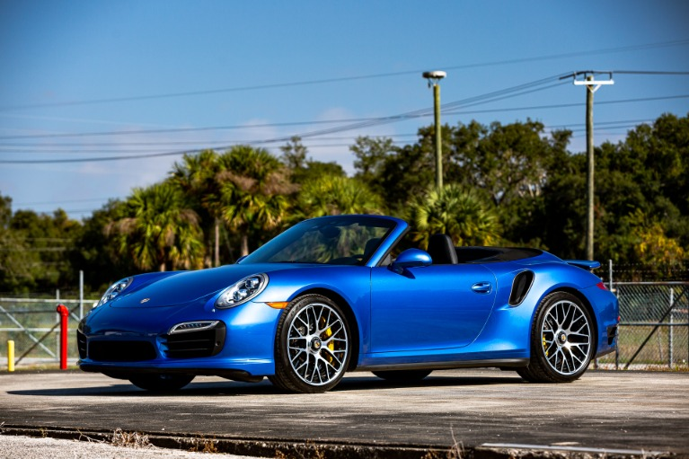 Used 2015 Porsche 911 Turbo S for sale Sold at McLaren Orlando LLC in Titusville FL 32780 3
