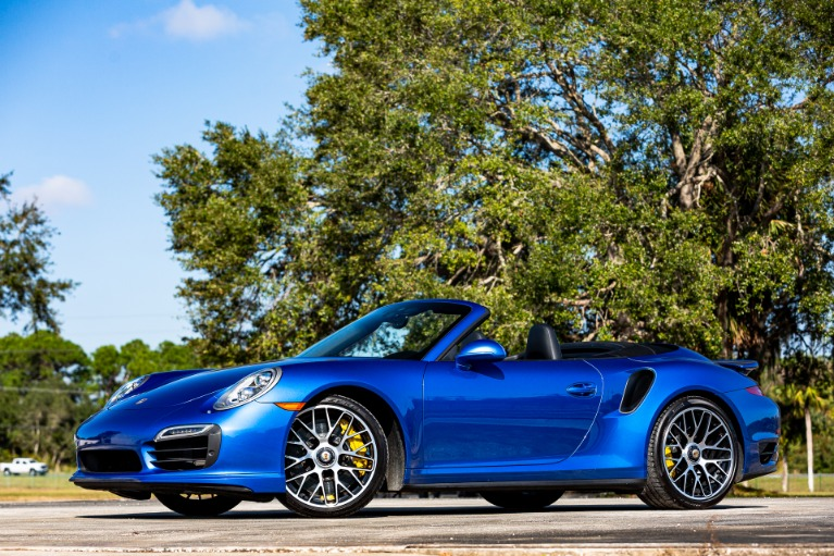 Used 2015 Porsche 911 Turbo S for sale Sold at McLaren Orlando LLC in Titusville FL 32780 4