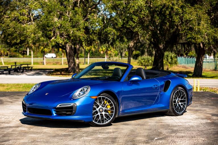 Used 2015 Porsche 911 Turbo S for sale Sold at McLaren Orlando LLC in Titusville FL 32780 1
