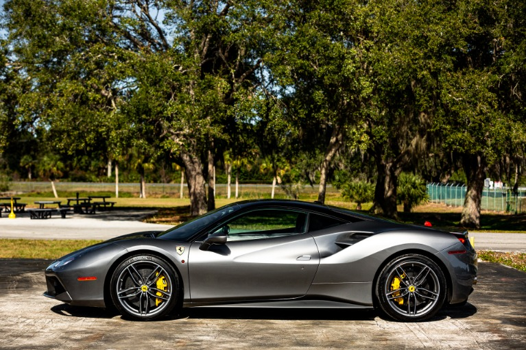 Used 2017 Ferrari 488 GTB for sale $228,880 at McLaren Orlando LLC in Titusville FL 32780 4