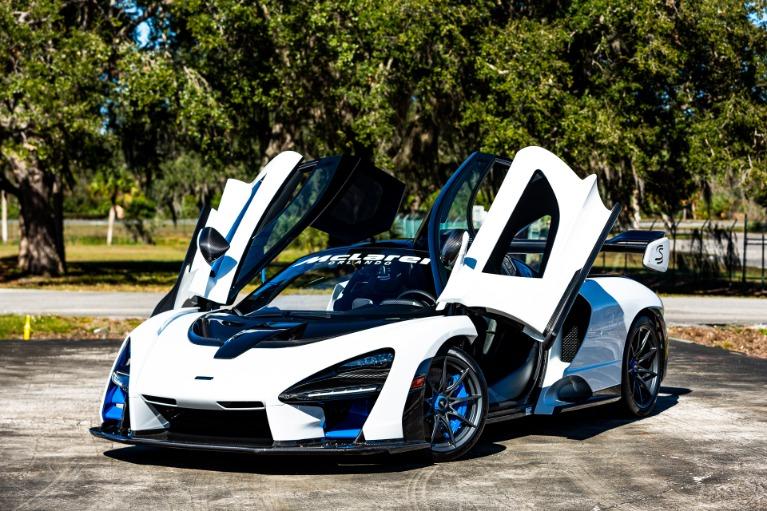 Used 2019 McLaren Senna for sale Call for price at McLaren Orlando LLC in Titusville FL 32780 2