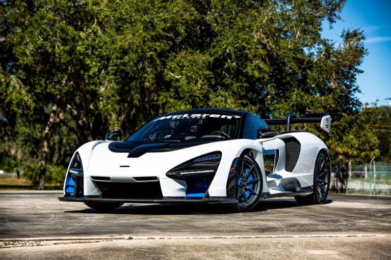 Used 2019 McLaren Senna for sale Call for price at McLaren Orlando LLC in Titusville FL 32780 3