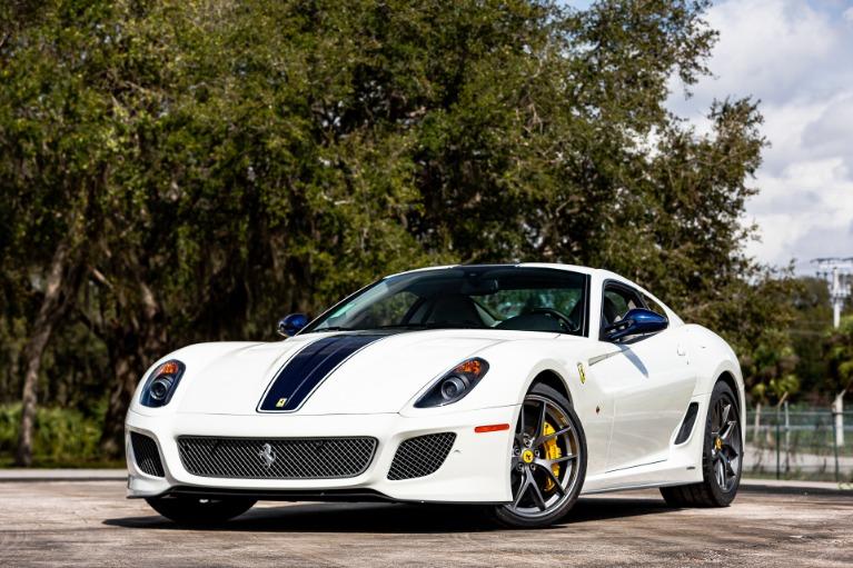 Used 2011 Ferrari 599 GTO for sale $678,880 at McLaren Orlando LLC in Titusville FL 32780 1