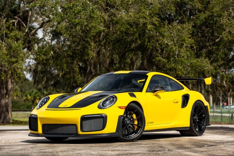 Used 2019 Porsche 911 GT2 RS for sale $346,880 at McLaren Orlando LLC in Titusville FL 32780 2