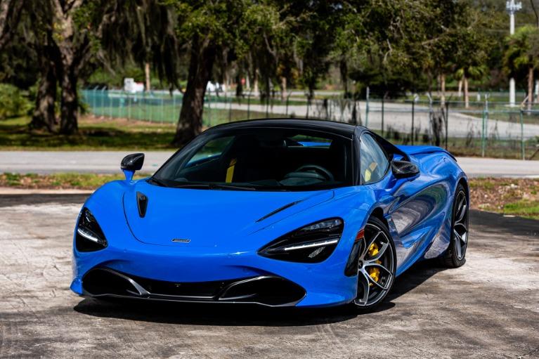 New 2020 McLaren 720S Spider Performance for sale Call for price at McLaren Orlando LLC in Titusville FL 32780 2
