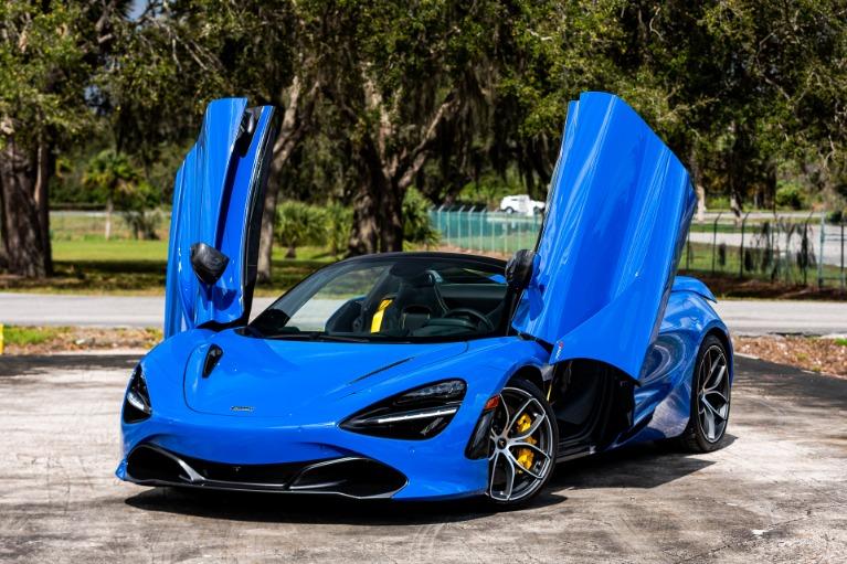 New 2020 McLaren 720S Spider Performance for sale Call for price at McLaren Orlando LLC in Titusville FL 32780 3