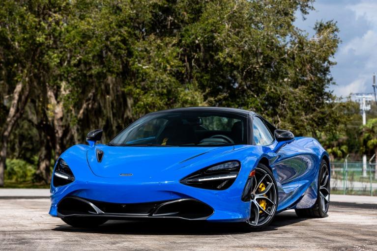 New 2020 McLaren 720S Spider Performance for sale Call for price at McLaren Orlando LLC in Titusville FL 32780 4