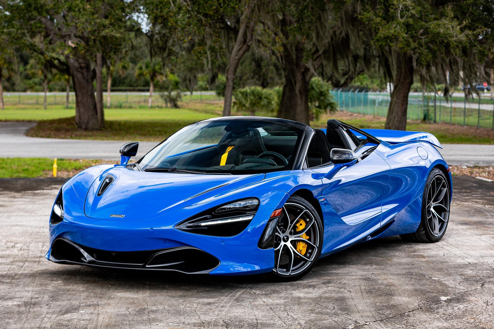 New 2020 McLaren 720S Spider Performance for sale Call for price at McLaren Orlando LLC in Titusville FL 32780 1