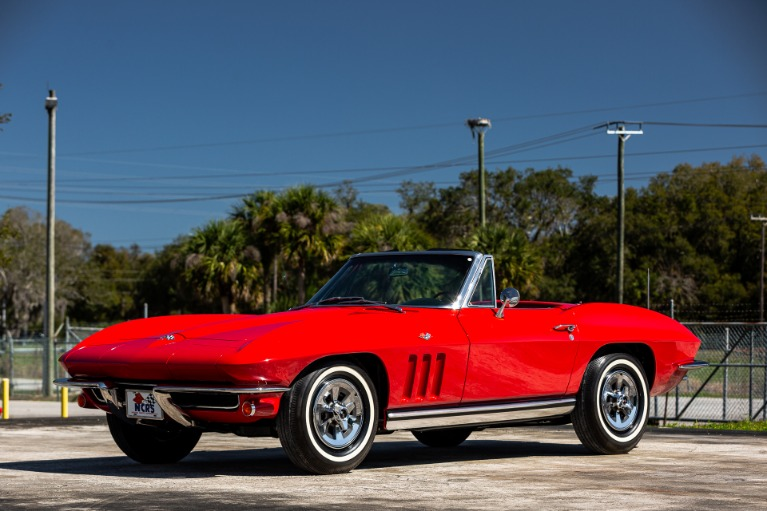 Used 1965 Chevrolet Corvette for sale $98,880 at McLaren Orlando LLC in Titusville FL 32780 4