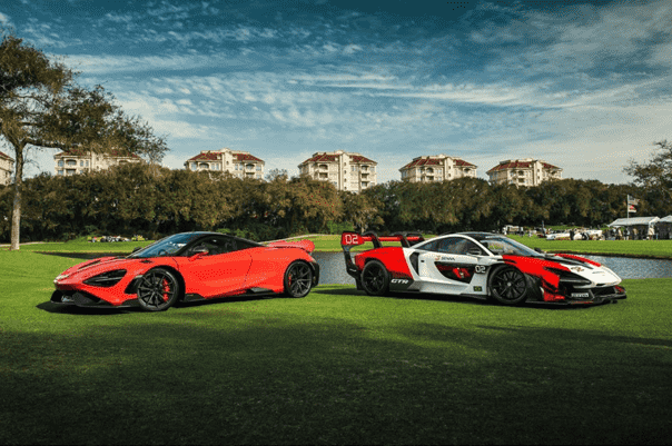 McLaren vehicles