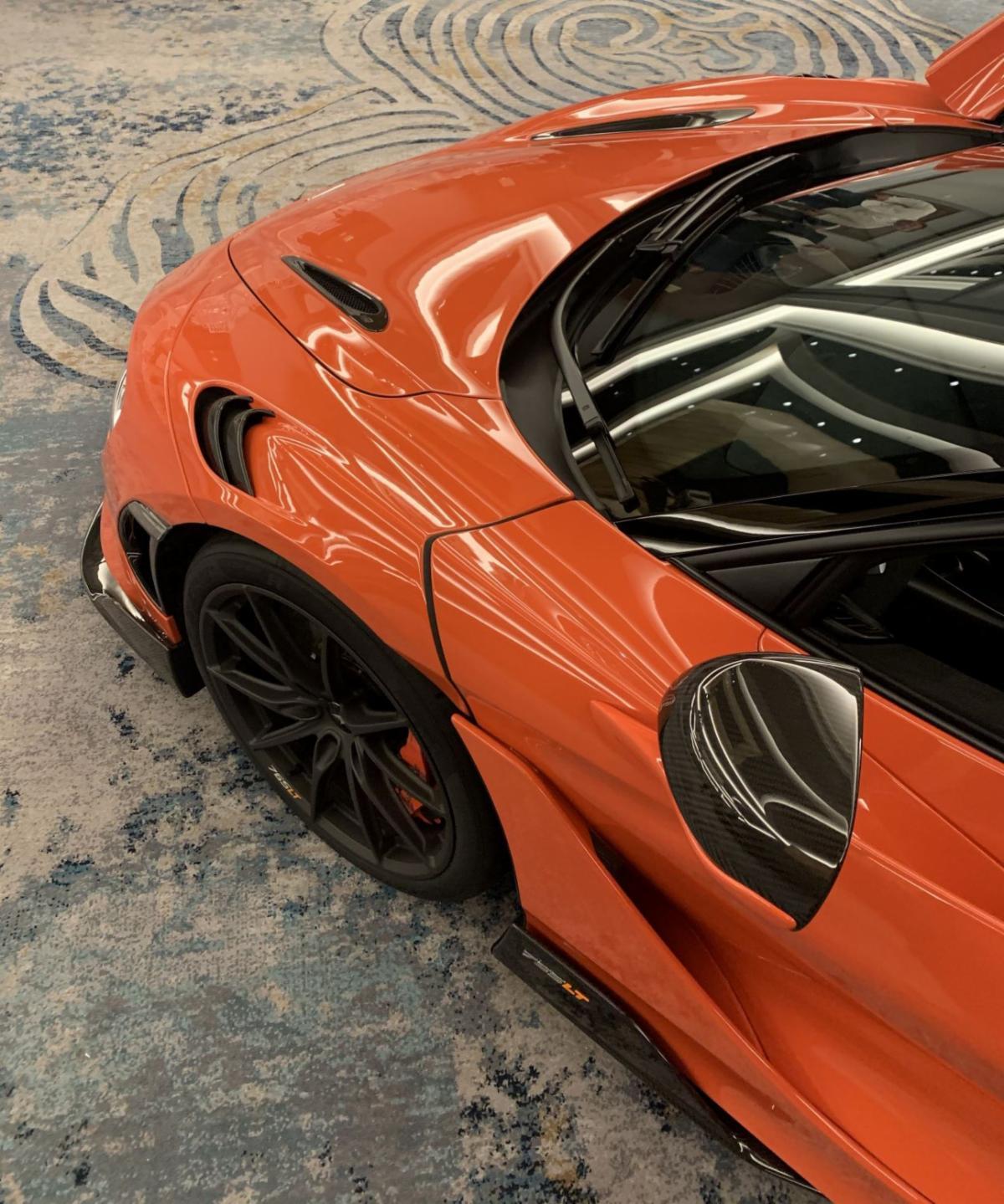 McLaren 765LT front left site