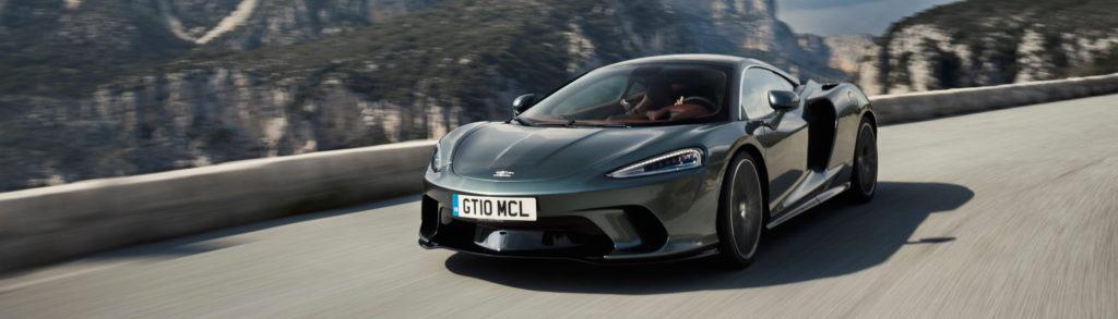 McLaren GT Grey Dynamic