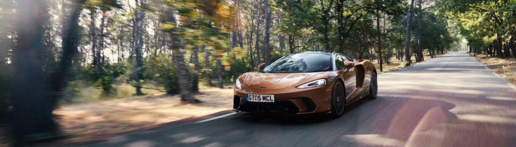 McLaren GT Copper Front