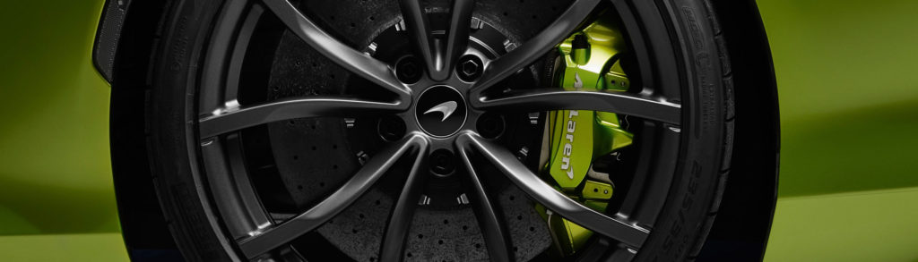 McLaren Artura Cyber Tires