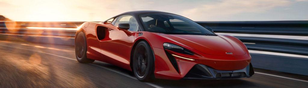 McLaren Artura Red Dynamic