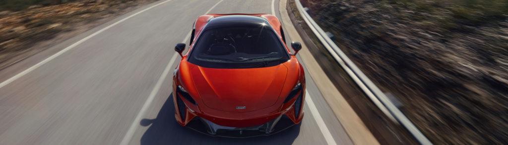 McLaren Artura Red Front