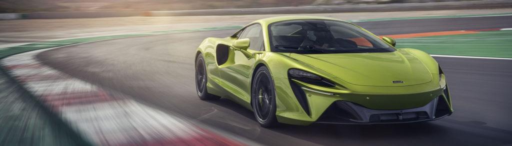 McLaren Artura Green Track