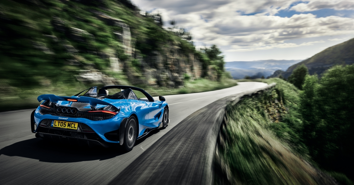 The McLaren 765LT Spider: extreme performance and new heights of driver engagement from McLaren's most powerful-ever convertible supercar