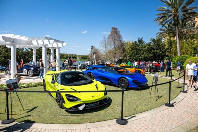 Festivals of Speed Orlando photos are uploading to our Facebook page in an album - Make sure you follow our pages for updates! Please share photos you took with us if you'd like us to post. 🙌 . All photos courtesy of @TShenPhotography 📸 . #TBT #McLarenOrlando #FOS #FestivalsofSpeed #Orlando #RitzCarlton #765LT #Speedtail #SennaLM #Elva #Orlando #CarsofIG