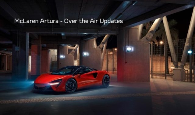 Next up, for Artura #FactFriday ⚡️ Did you know the McLaren Artura is the first McLaren with internet connectivity for Over the Air (OTA) software updates? . Save a trip to the dealership and let the Artura update its software on its own. . Contact your McLaren Orlando team for next steps on ordering your own. . #McLarenOrlando #McLarenArtura #P16 #Hybrid #McLarenTechnology