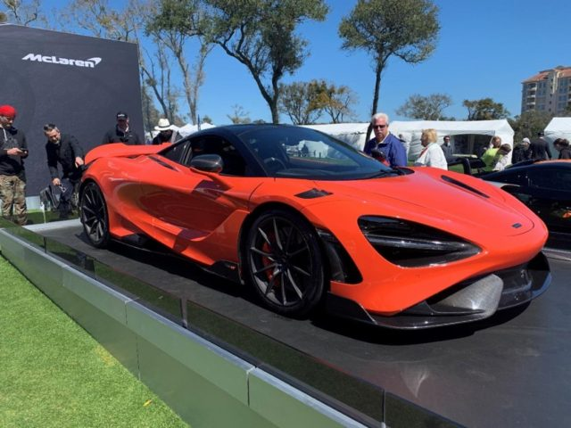 #TBT to last year's Amelia Island Concours when we got to see 765LT for the first time publicly! We are looking forward to seeing everyone at the Ritz-Carlton again next weekend. . #ThrowbackThursday #McLarenOrlando #AmeliaConcours #AmeliaIsland #McLarenAuto #765LT #NardoOrange
