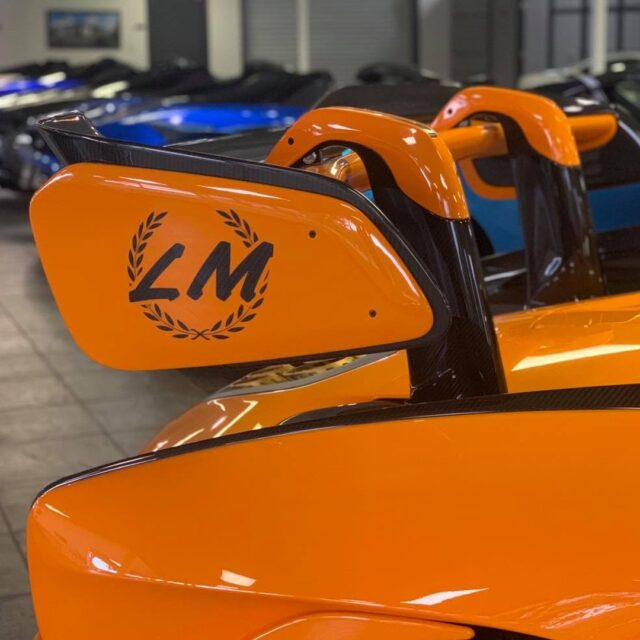 McLaren Orange on the Senna LM will make even the cloudiest, rainy day in FL a bit brighter 🧡